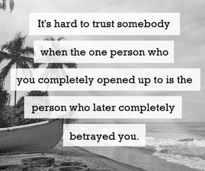 quote, hard, and trust image