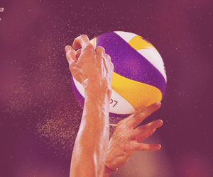 ball, olympic games, and photography image
