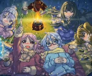 anime, itsuki, and aoi image