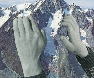 mountains and Collage image