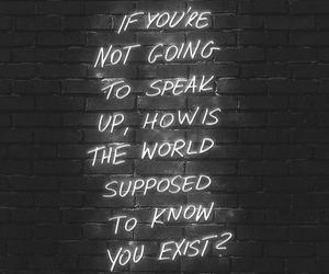 quotes, world, and speak image