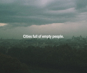 city, empty, and people image