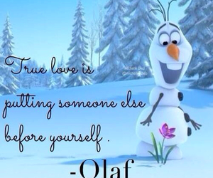 beautiful, frozen, and olaf image