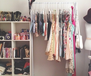 clothes, room, and dress image
