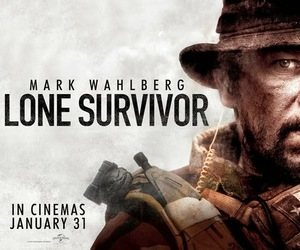 mark wahlberg, war, and marcus luttrell image