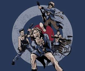 doctor who and the who image