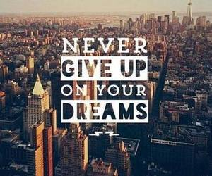Dream, never, and quotes image
