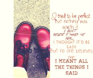 beautiful, cherry, and doc martens image