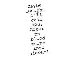 ed sheeran, love, and alcohol image