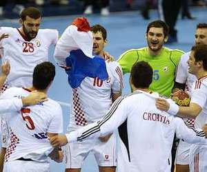 Croatia, handball, and love image