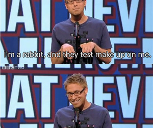 funny, rabbit, and russell howard image