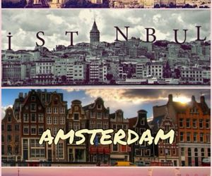 amsterdam, istanbul, and london image