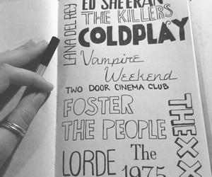 coldplay, lorde, and ed sheeran image
