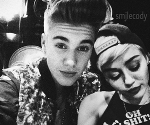 miley cyrus, belieber, and justin bieber image