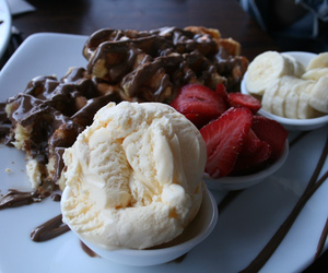 amazing, food, and waffles image