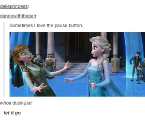 frozen, funny, and let it go image