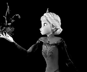 frozen, magic, and snow image