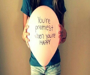 balloon, quotes, and beautiful image