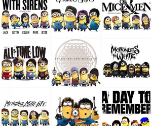 minions, band, and music image