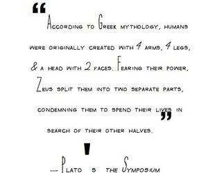 love, quote, and greek image