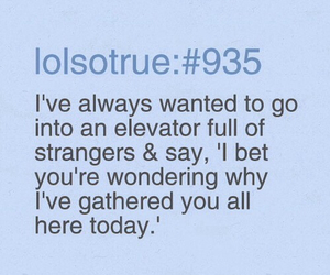 elevator, lol, and funny image