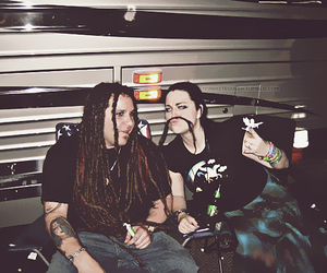 amy lee, evanescence, and terry balsamo image