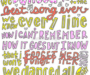 best song ever, one direction, and Lyrics image