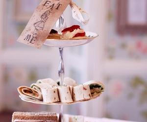 alice, magic, and tea party image