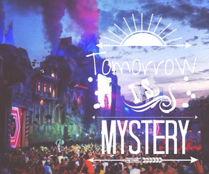 Tomorrowland, mystery, and life image