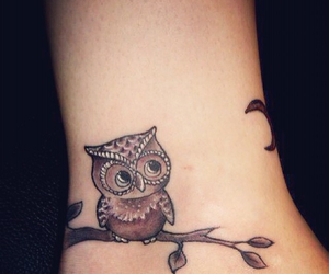 owl and tattoo image