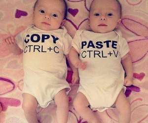 baby, funny, and sweet image