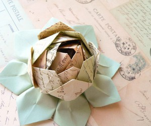 flower and origami image