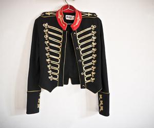 fashion, jacket, and military image