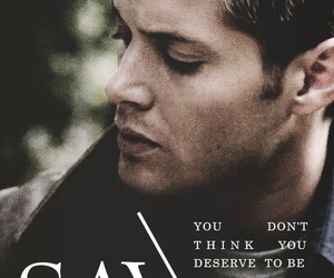 dean winchester, hell, and spn image