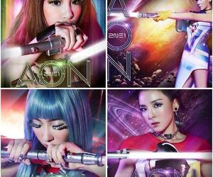 2ne1, concert, and aon image