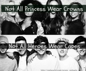 little mix, one direction, and princess image