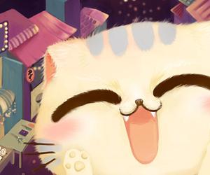 cat, neko, and cute image
