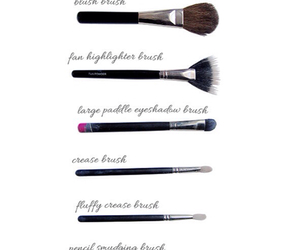 brush, girly, and guide image