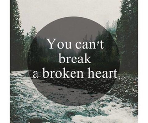 broken, heart, and break image