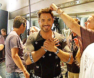iron man and smile image