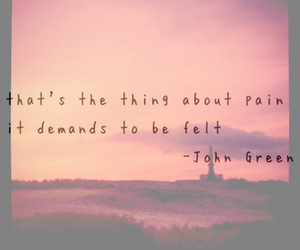 depression, johngreen, and feelings image