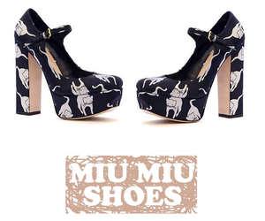 shoes and miu miu image