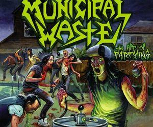 metal, municipal waste, and thrash image