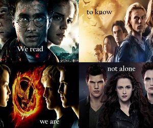 harrypotter, twilight, and shadowhunters image