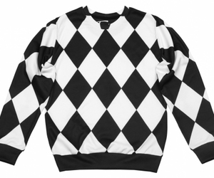 sexysweaters, printedsweater, and sexysweater image