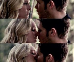 finally, the vampire diaries, and klaroline image