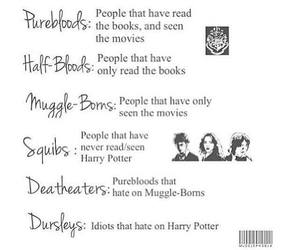 harry potter, pureblood, and squib image