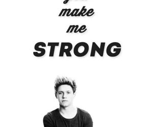 strong, niall horan, and one direction image