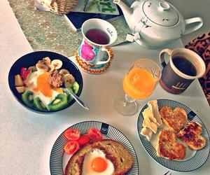 breakfast, sweet, and food image