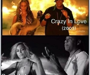jay z, crazy in love, and jayonce image